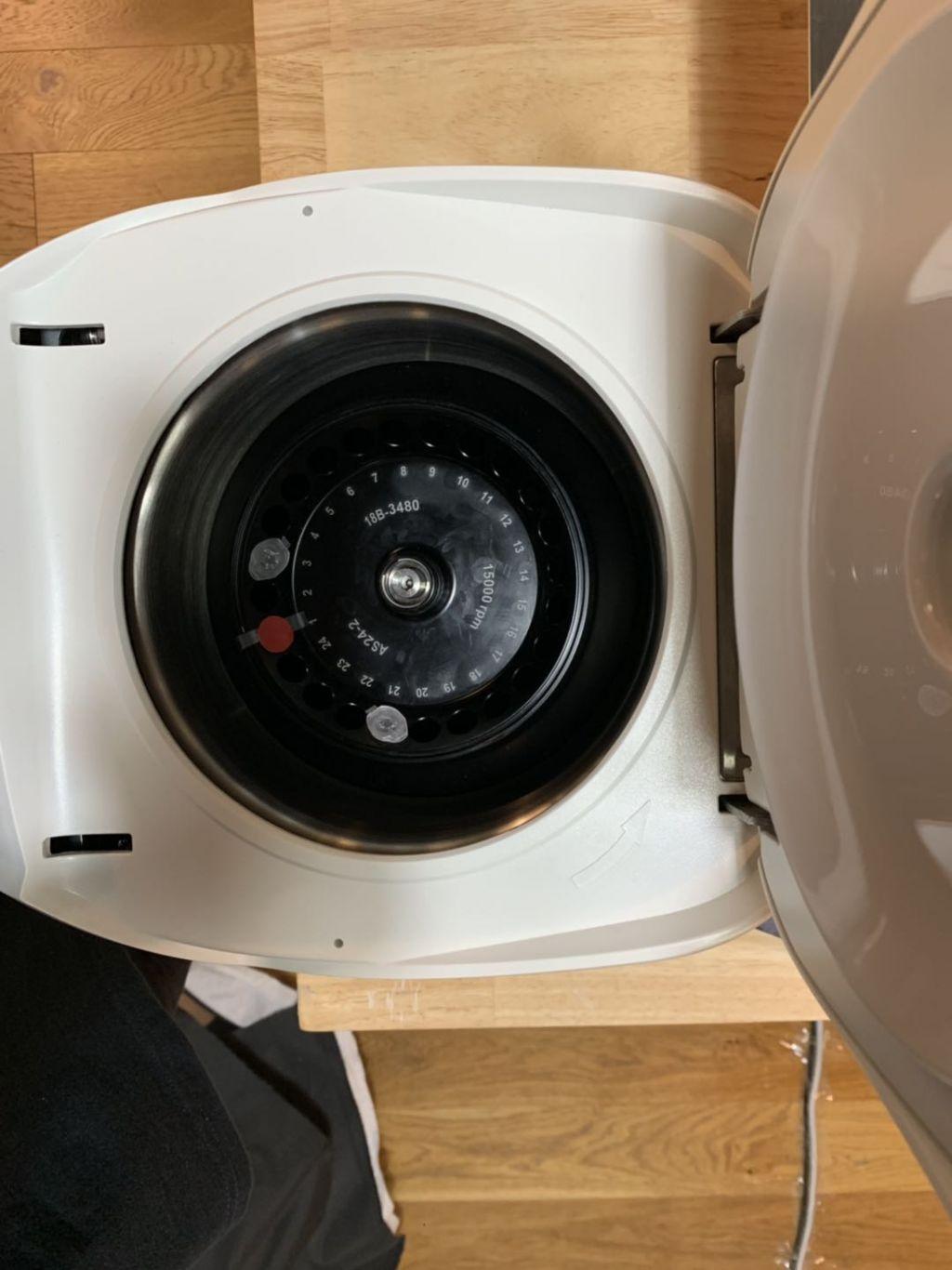 离心机中试管位置检测