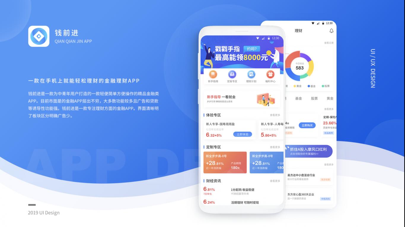 钱前进金融app