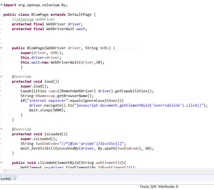 UI 自动化框架