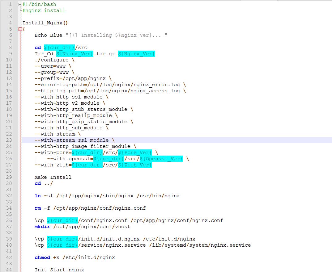 centos服务器自动软件安装脚本